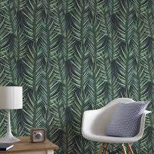 Palm Leaf Green Behang Grahambrownnl