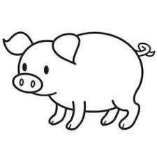 Small Picture pig coloring page Coloring page Pinterest