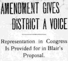 amendment gives district a voice the washington times amendment gives district a voice the washington times 18 1908
