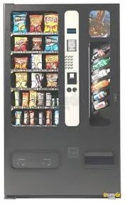 Usi Combo Vending Machine Simple Electrical Snack Soda Vending Machines USI Combo II Soda