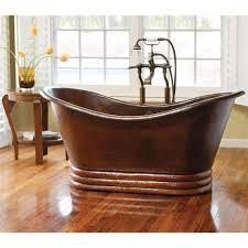 get ations aurora freestanding bath tub in antique copper 60 in length