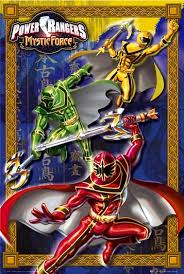 a power rangers mystic force promotional poster