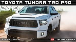 2019 TOYOTA TUNDRA TRD PRO Review Rendered Price Specs Release ...