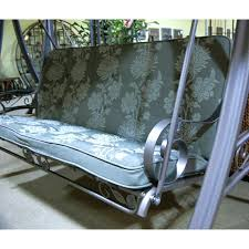 swing seat cushion remarkable outdoor seat cushions island swing replacement cushion