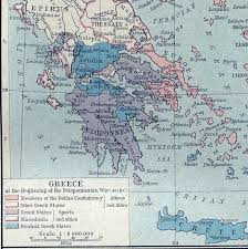 the peloponnesian war causes of the conflict  in 431 b c at the start of the peloponnesian war