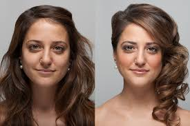 before after makeup transformation