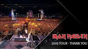 <b>Iron Maiden</b> - Thank You 2019 - YouTube
