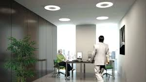 home office ceiling lighting. Fascinating Excellent Commercial Office Fluorescent Light Fixtures Led Ceiling Lighting Home Ideas E