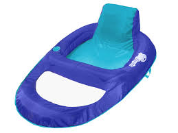 Swimways Spring Float Papasan Pool Chair Light Blue Lime Swimways Spring Float Recliner Xl Extra Large Swim Lounger For Pool Or Lake