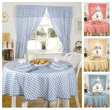 Kitchen Curtains Yellow Gingham Kitchen Curtains Curtains Ideas
