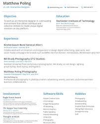 Ux designer resume pdf