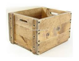 wooden crate furniture. Wood Crate Wooden Box Small Table Furniture Bridgewoodplace