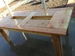 Belham Living Brighton Outdoor Wood Extension Patio Dining Set Outdoor Wood Furniture Sale