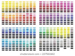 Pink Color Chart Images Stock Photos Vectors Shutterstock