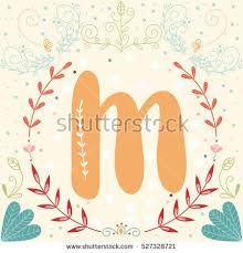 fancy letter m initial monogram letter m vector fancy stock photo photo vector