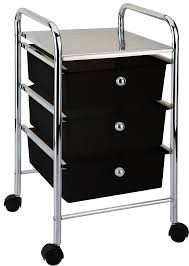 office rolling cart. 34drawertrolleyblackcartstorageportable office rolling cart