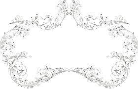 ポップでかわいい花のイラストフリー素材no948細い線画4
