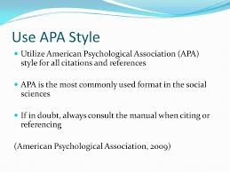 Apa Style For Powerpoint Creating An Effective Social Science Powerpoint Presentation