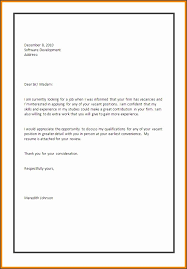 how to make a coverletter format on how to write an application letter for a
