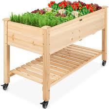 potting bench table wooden gardening