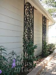 Small Picture 29 best images about Wrought Iron Wall Trellis Designs