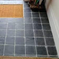 porch floor tiles lobby with square tumbled slate cobbles car porch floor tile design