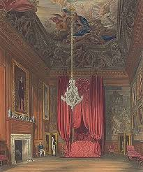 queen mary ii s bedchamber also known as queen ine s state bedchamber