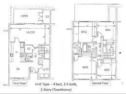 Valencia Floorplans In Santa Clarita Valley  Santa Clarita Real Townhomes Floor Plans