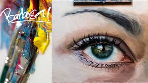 how to paint an eye oil painting realistic painting the making of realize you