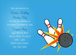 Bowling Party Invitation Bowling Party Invitation Party Greeting Cards By Cardsdirect