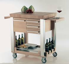Mobile Kitchen Island Kitchen Island On Wheels Movable Kitchen Island With Wheels