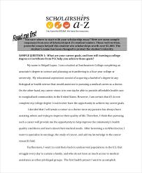 College Scholarship Essay 9 Scholarship Essay Examples Free Premium Templates