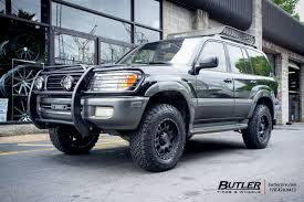land cruiser black wheels - Google Search | land cruiser 100 ...