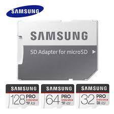 SAMSUNG PRO Sức Chịu Đựng Thẻ Nhớ MicroSD 32GB 64GB 128GB U1microSDHC/SDXC  Tốc Độ Đọc Lên Đến 100 MB/giây Cho Giám Sát Video|Thẻ Micro SD