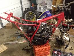 1984 xl350r dirt build page 3 adventure rider suspension is toast junk anyway going mx front end don t care what bike and hopefully xr350r rear