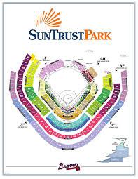 Kennesaw State Football Seating Chart Suntrust Park Seating Chart Layout Pdf Mdjonline Com