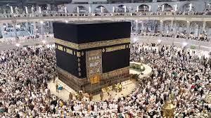 طواف الافاضة في يوم العيد الأضحى و أذان صلاة العش - YouTube
