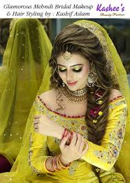 latest makeup ideas 2016 for mehndi event 2