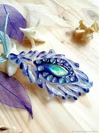 pendants handmade livemaster handmade fused glass pendant feather firebird