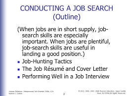 good job skills job search and career management skills ppt download