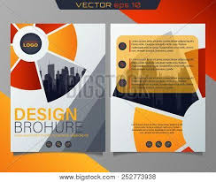 Pamphlet And Brochure Poster Flyer Pamphlet Vector Photo Free Trial Bigstock