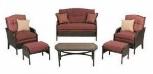 martha stewart outdoor patio replacement cushions. martha stewart living palamos wicker 6pc patio set cushions outdoor replacement