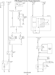Mazda wiring diagram with schematic images 2000 b2500 wenkm mazda 1995 protege charging system
