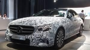 mercedes benz new car release2017 MercedesBenz Eclass Tons of New Technology  News  Car
