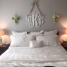 pleasant design monogram wall hanging interior ideas painted wooden wood letters door hanger metal