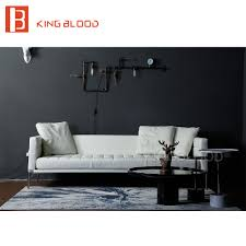 home office sofa. Hot Selling Living Room Modern Furniture White Genuine Leather Sofa For Coffee Shop Home Office-in Sofas From On Aliexpress.com Office O