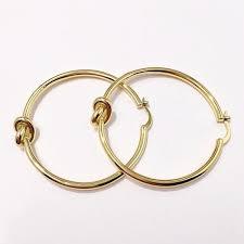2019 Round <b>Knot Hoop Earrings</b> Personality Circle Ear Ring ...