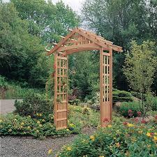 nantucket garden arbor