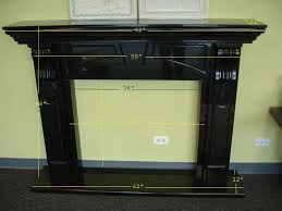 black walnut fireplace mantel