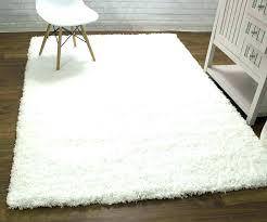 plush white area rug large white plush area rug